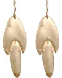 Ten Thousand Things   Gold Medium Jointed Shape Earrings   Lyst