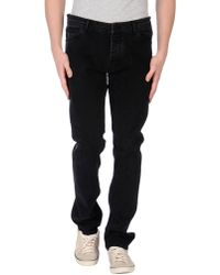 Surface To Air Denim Trousers black - Lyst