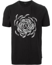 Surface To Air Print T-Shirt - Lyst