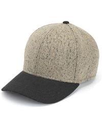 Rag & Bone Felt Baseball Cap - Lyst
