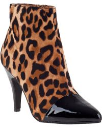 Jeffrey Campbell Jessa Ankle Boot Leopard animal - Lyst