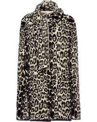 Sonia Rykiel Animal Leopard Cape - Lyst