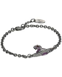 Vivienne Westwood Somerset Bas Relief Bracelet - Lyst