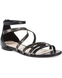 Cole Haan Womens Mercer Flat Sandals - Lyst