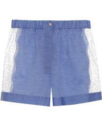 Raphaëlla Riboud - Fred Cotton Pajama Shorts - Lyst