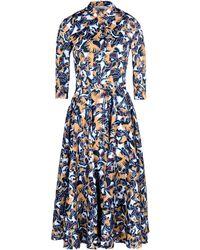 Mary Katrantzou 3/4 Length Dress - Lyst
