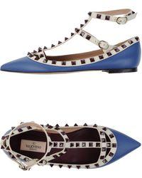 Valentino Ballet Flats - Lyst