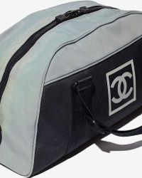 Nasty Gal - Vintage Chanel Sport Duffle - Lyst