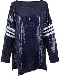 Tibi | All Over Sequins T-shirt | Lyst