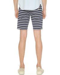 Gant Rugger - Stripe Shorts - Lyst