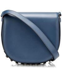 Alexander Wang Lia Leather Cross-Body Bag - Lyst