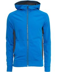 H&M Hooded Sports Jacket blue - Lyst