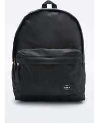 Obey - Laroche Backpack In Black - Lyst