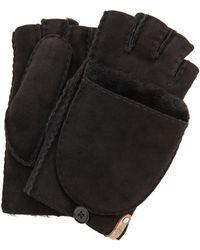 Mackage - Orea Shearling Gloves - Camel - Lyst