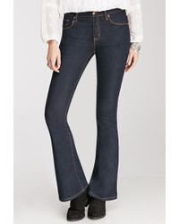 Forever 21 Classic Flared Jeans - Lyst