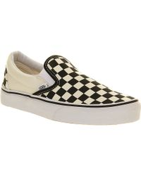 Vans Classic Slip-on Trainers - Lyst