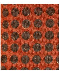 Bottega Veneta Polka-dot Wool-blend Jumper Vest - Brown