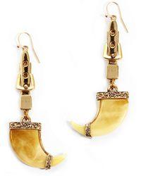Lulu Frost Cleo Earring gold - Lyst