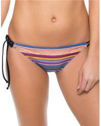 Oakley - Pacific Stripe Tunnel Bikini Bottom - Lyst
