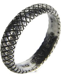 First People First Ring silver - Lyst