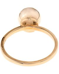Nektar De Stagni - Smiley Face Gold-Plated Ring - Lyst