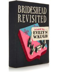 Olympia Le-Tan Brideshead Revisited Book Clutch - Lyst