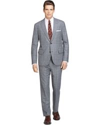 Brooks Brothers Own Make Plaid Suit - Lyst