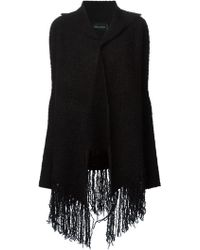 Zadig & Voltaire Fringed Cardigan - Lyst