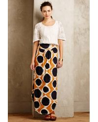 Maeve Melo Maxi Skirt - Lyst