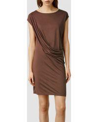 AllSaints Sabie Dress - Lyst