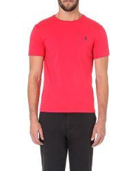 Ralph Lauren Custom-fit Logo T-shirt - Lyst