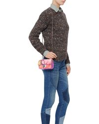 Madison Avenue Couture Runway Edition Chanel Flower Power Mini Flap Bag - Pink