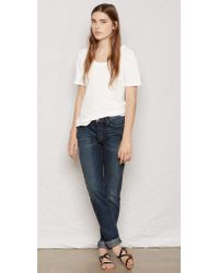 Current/Elliott The Perfect Tee white - Lyst
