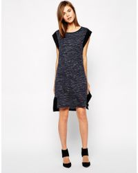 Y.a.s Ebba Simple Dress - Lyst