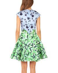 Elle Sasson Green Holly Dress - Lyst