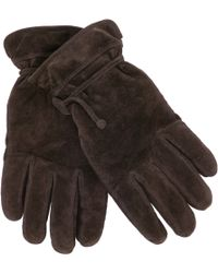John Lewis - Suede Pull Cord Gloves - Lyst