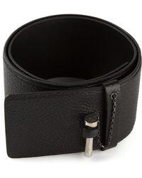 Carven Bar Pin Belt - Lyst