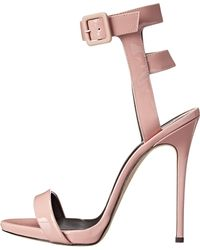 Giuseppe Zanotti heels sandal heels high heels - Lyst