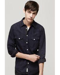 Rag & Bone Rawlins Shirt - Lyst