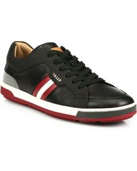Bally Airone Leather Sneakers - Lyst
