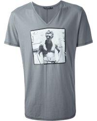 Dolce & Gabbana Photo Print Tshirt - Lyst