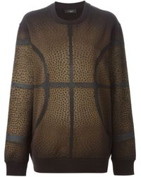 Givenchy Basketball Print Sweatshirt - Lyst