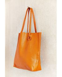 BDG   Basic Leather Tote Bag   Lyst