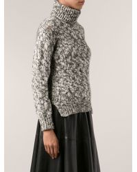 Yigal Azrouel Turtleneck Sweater - Lyst