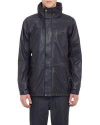 Loewe Waterproof Leather Hiking Jacket - Lyst