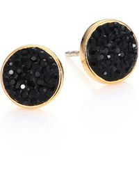 Marc By Marc Jacobs | Pavé Disc Stud Earrings | Lyst