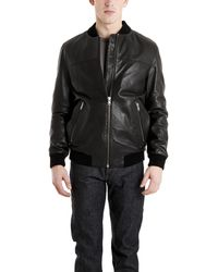 BLK DNM Leather Jacket - Lyst