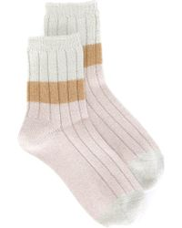 Undercover - Colour Block Socks - Lyst