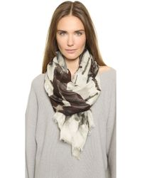 Yigal Azrouel Raining Dogs Scarf  - Lyst