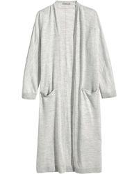 H&M Merino Wool Cardigan - Lyst